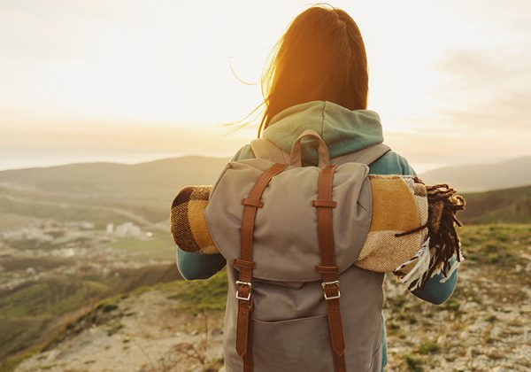 backpacking-style
